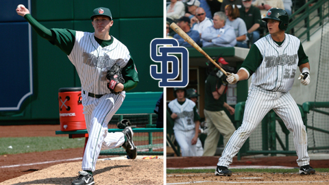 RHP Brad Brach and C Jason Hagerty took home major awards.