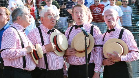 The TinCaps are looking for national anthem performers for 2011.