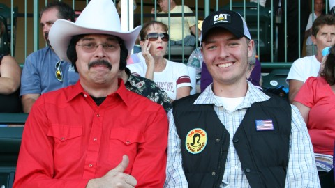 "The cast of ""Smokey and the Bandit"" attended 70s Night last season."
