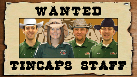 Catch any of these varmints not wearing TinCaps gear and win tickets!