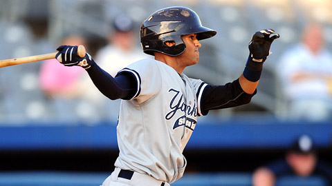 Mason Williams, a fourth-round pick, batted .349 for Staten Island.