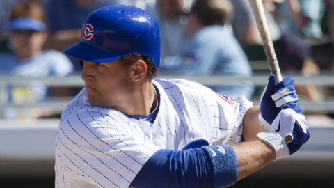 Anthony Rizzo has seven homers in 12 Triple-A games this year.