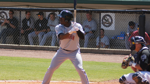 Jared Mitchell leads the Southern League with 15 RBIs in his first 16 games.
