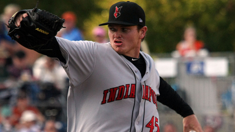 Justin Wilson ranks fourth in the International League with 31 strikeouts.