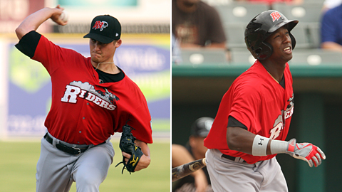 Barret Loux and Jurickson Profar have been red-hot for first-place Frisco.