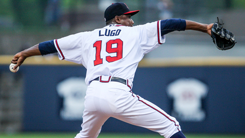 Jose Lugo is 2-2 with a 2.68 ERA in seven starts in Double-A.